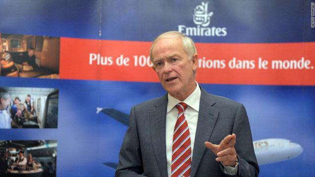 رئيس طيران الإمارات يشكك بجدوى اتفاق طيران على مستوى الاتحاد الأوروبي