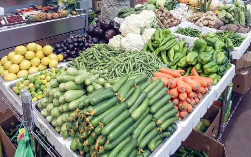 اشتباه في وجود خضراوات «محظورة» بالسوق المحلية