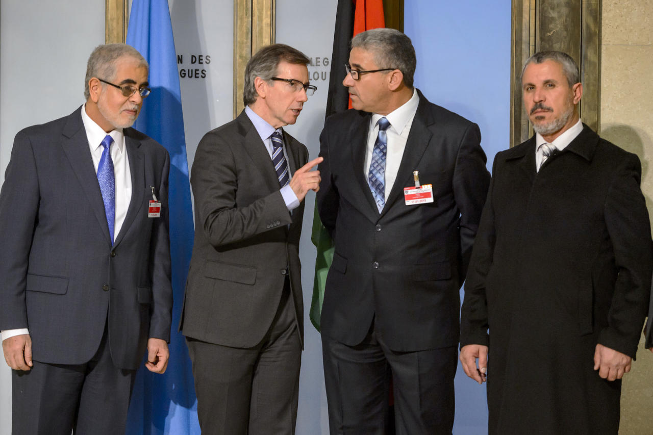 اتفاق مبدئي بين الفرقاء الليبيين لحل الأزمة