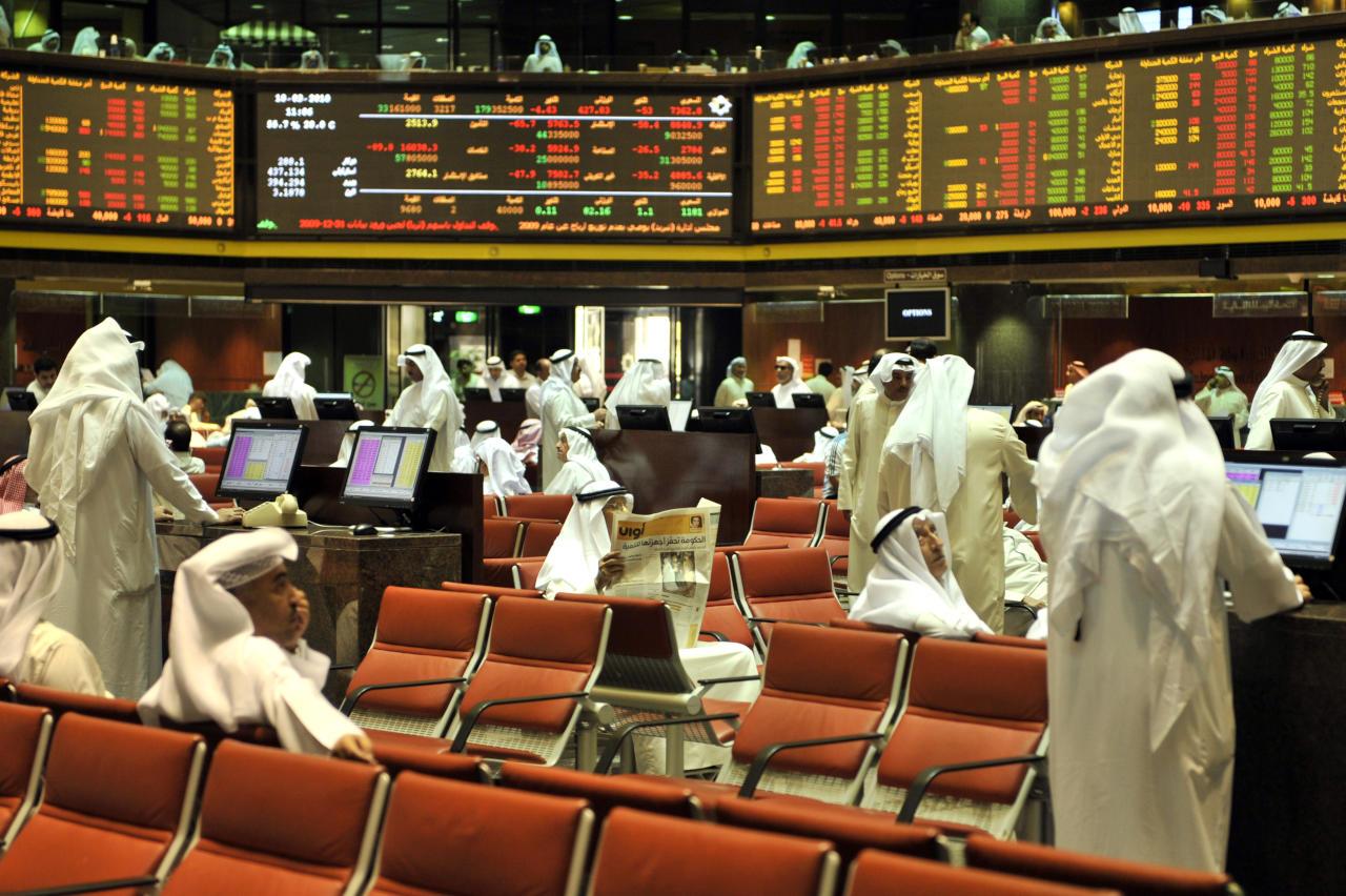 بورصة الكويت الأولى عالمياً بكثافة شرائية عالية في يناير