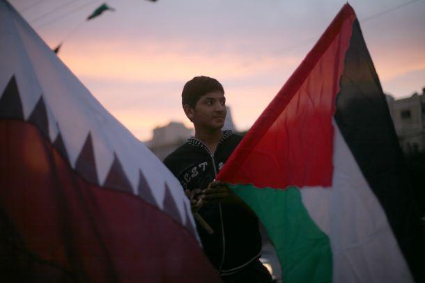 قطر الأولى عربياً في دعم الفلسطينيين