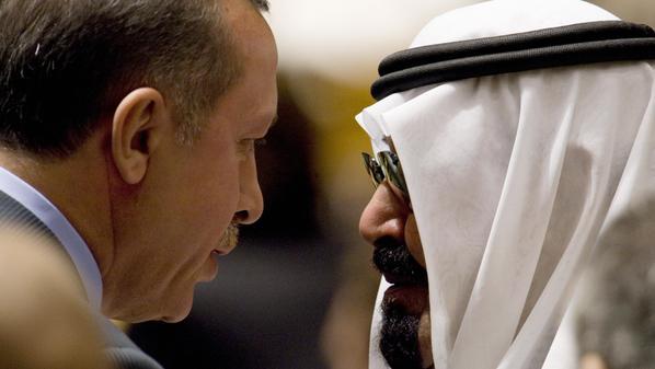 أرودغان يطمئن على صحة العاهل السعودي