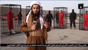 داعش: يعرض 21 أسيرًا كرديًا في أقفاص الحرق
