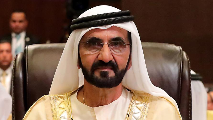 محمد بن راشد يستقبل وزير الداخلية السعودي