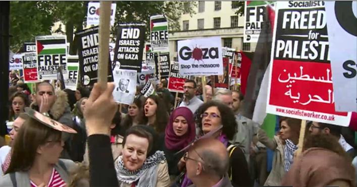لندن تحتج على منتهكي حقوق الإنسان بالتظاهر ضد زيارة نتنياهو