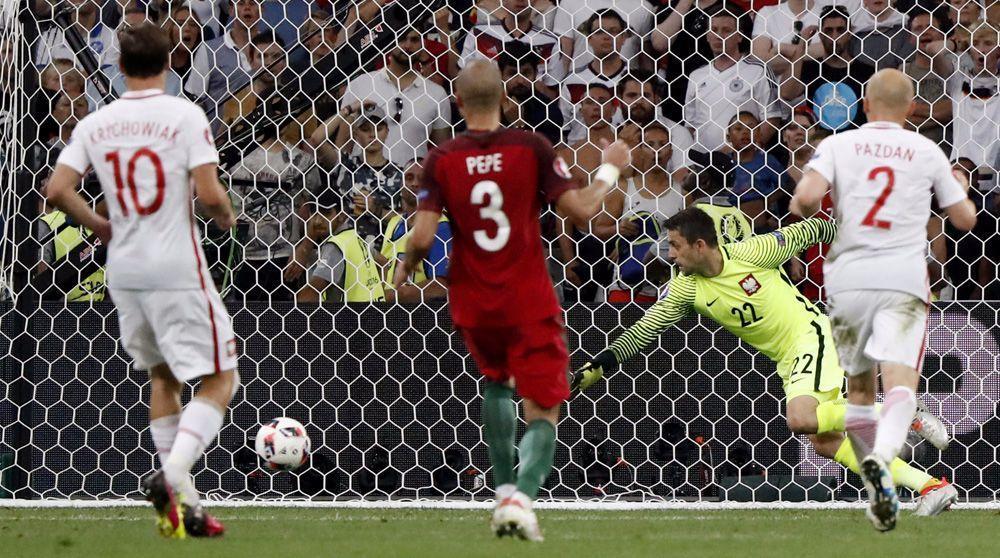 البرتغال تصل المربع الذهبي لكأس أوروبا على حساب بولندا