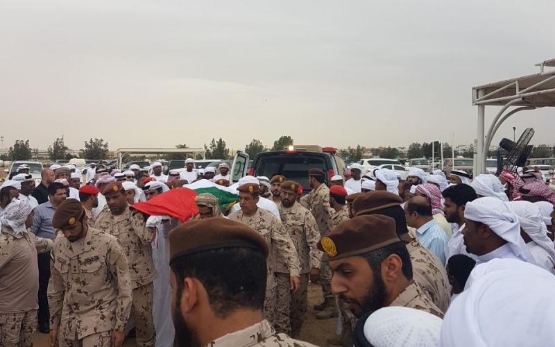 تشييع جثمان الشهيد خالد البلوشي إلى مثواه الأخير