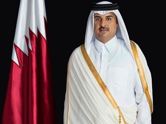 أمير قطر يهنئ الملك سلمان و محمد بن سلمان بولاية العهد