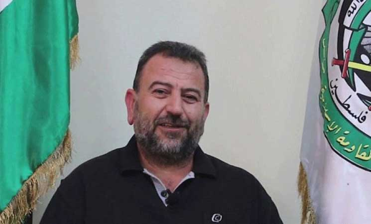 """نائب رئيس """"حماس″ يلتقي لاريجاني وخامنئي في طهران"""
