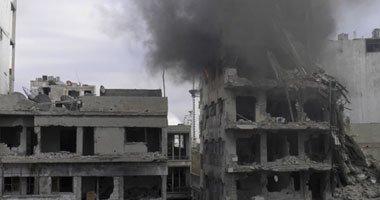 قصف كثيف يستهدف العاصمة السورية دمشق