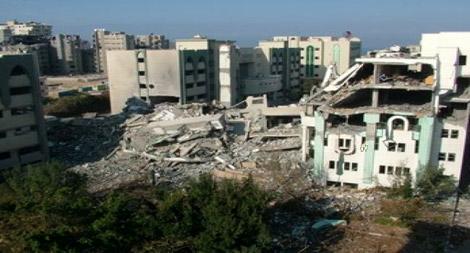 """مؤسسة إماراتية تبدي استعدادها لترميم """"الجامعة الإسلامية"""" في غزة"""