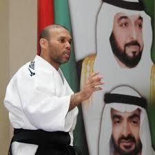 """""""العالمي للدفاع عن النفس"""" يكرم بطل """"الأيكيدو"""" الإماراتي ذياب العسيري"""