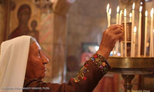 نكبة مسيحيو فلسطين في  فيلم الحجارة تصرخ