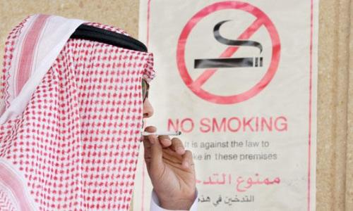 30 % من سكان السعودية مدخنون