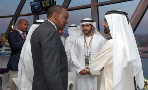 محمد بن راشد يلتقي رئيسي كينيا وصربيا على هامش سباق الفورمولا-1