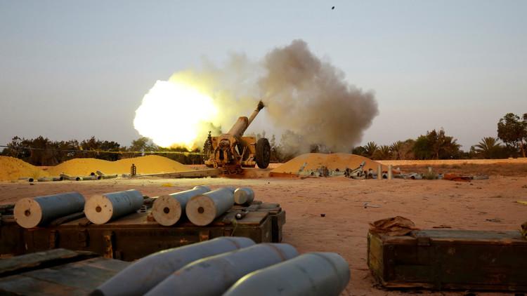 """قوات حكومة الوفاق الليبية تسيطر على مقر """"داعش"""" الرئيس بسرت"""