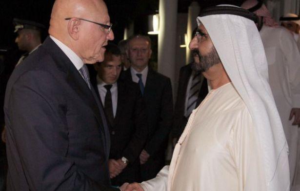 """محمد بن راشد لـ""""سلام"""": لا قرار باستهداف اللبنانيين في الإمارات"""