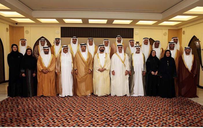 الوزيران الجديدان يؤديان اليمين الدستورية أمام محمد بن راشد