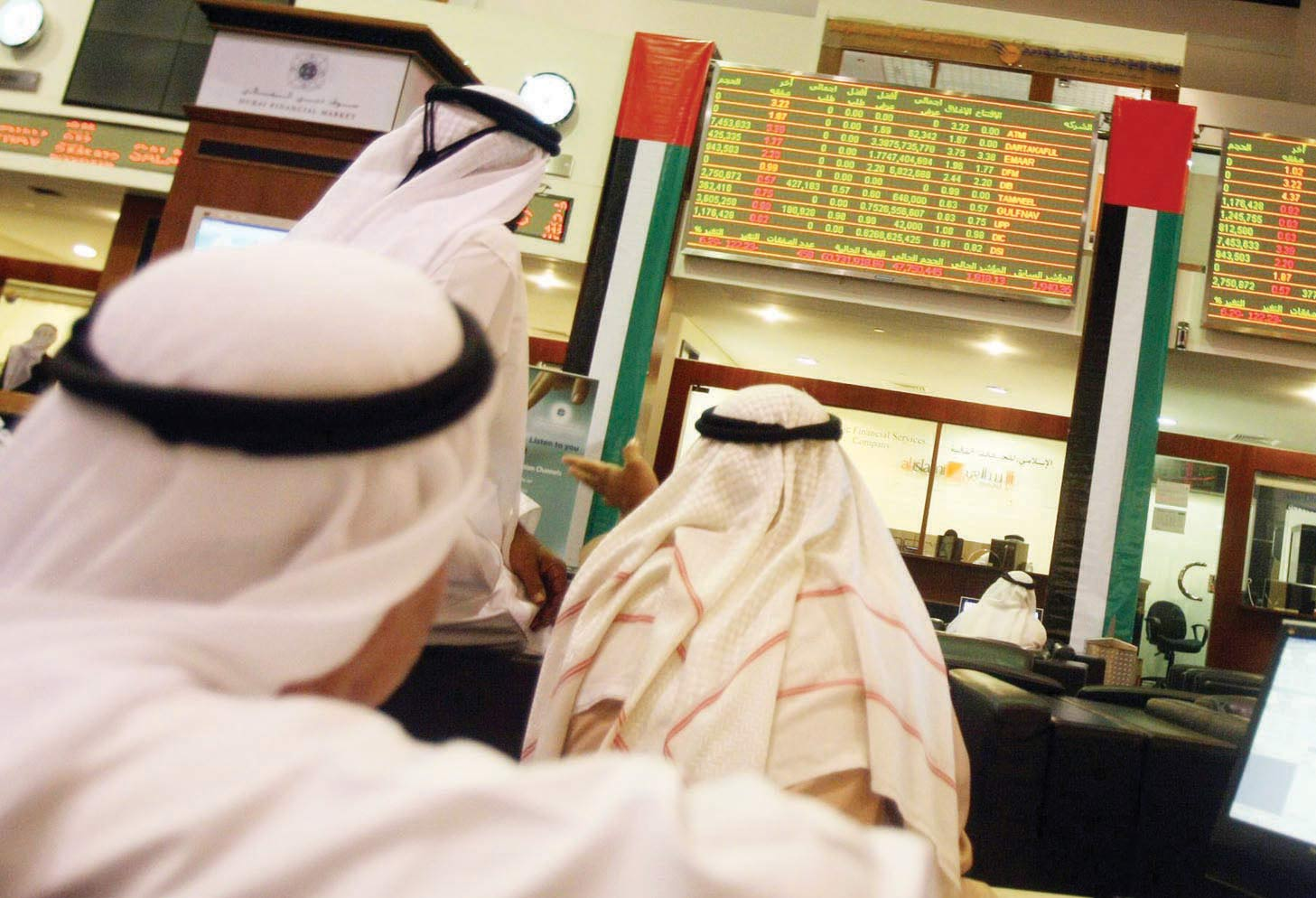 سوق دبي المالي تعتزم السماح بالبيع على المكشوف
