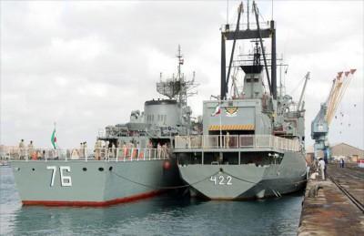 البحرية الإيرانية في خليج عدن توجه تحذيرات لسفن أمريكية وفرنسية