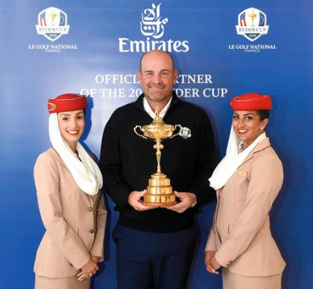 «طيران الإمارات» تمدّد رعاية الجولة الأوروبية للغولف حتى 2021