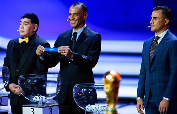 تعرف على مجموعات كأس العالم لكرة القدم 2018