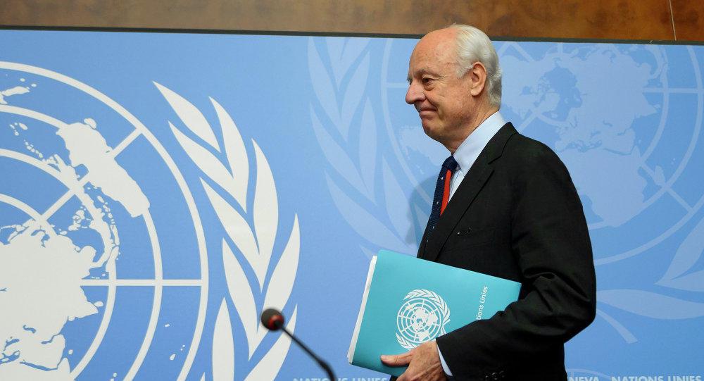 دي مستورا: سوريا تشهد أسوأ فتراتها منذ اندلاع الثورة