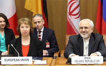 اشتون تتولى جولة المفاوضات مع ايران بدلا من مجموعة (5+1)
