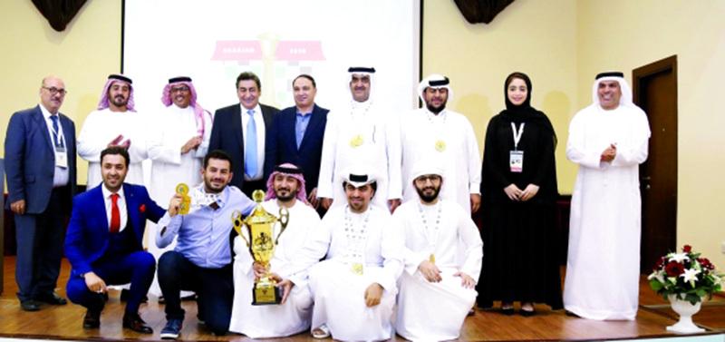 نادي «الشارقة» الثقافي بطل الأندية العربية للشطرنج