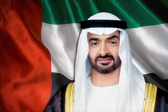 """محمد بن زايد يبحث التعاون مع رئيسي """"جنرال اتوميكس"""" و""""رايثون"""""""