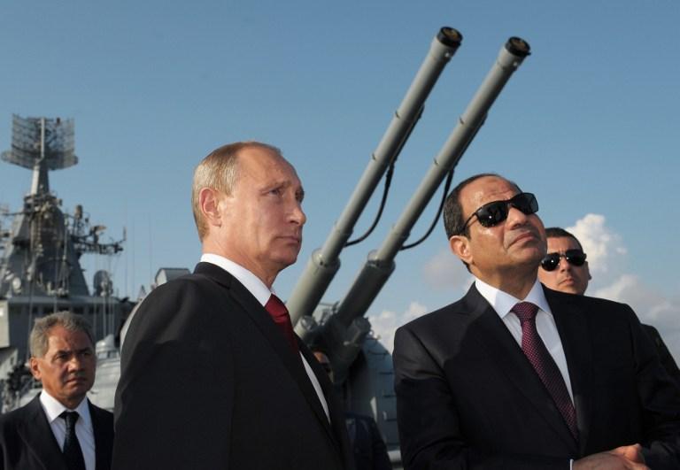 """""""هآرتس"""": غزو روسي لليبيا واليمن بعد سوريا بمساعدة نظام السيسي"""