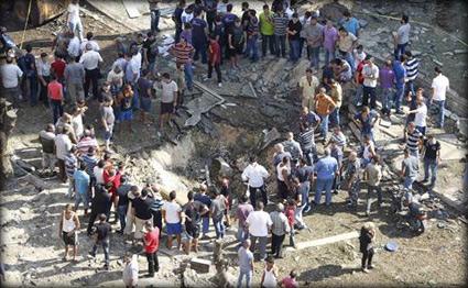 قتيلان و25 جريح في تفجيري انتحاري استهدف الشرطة اللبنانية