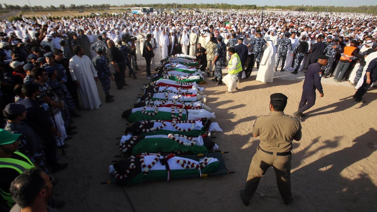 """الإعدام لـ""""7"""" مدانين  بتفجير الصوابر بالكويت"""