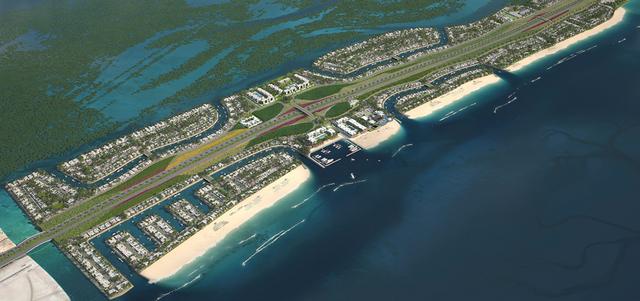 محمد بن زايد يصدر قرارا باعتبار جزيرة فاهد منطقة استثمارية