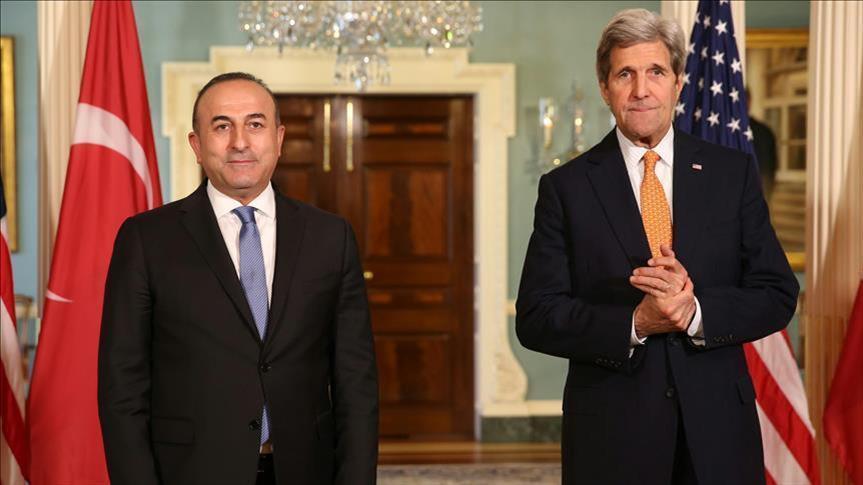 "توتر بين واشنطن وأنقرة.. أوغلو وكيري يبحثان تسليم ""غولن"" لتركيا"