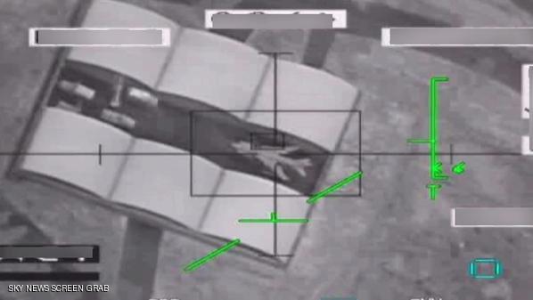 تدمير مخبأ للطائرات في صنعاء بعد استهدافه من قبل طائرات إماراتية