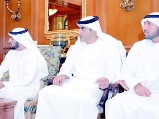 حمدان بن زايد يؤكد التزام الإمارات بدعم الفلسطينيين