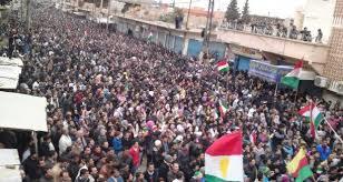 مظاهرات لأكراد إيران تأييدا لاستفتاء كردستان العراق