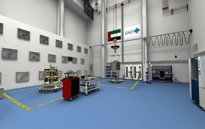 """الإمارات تنجز المرافق الأولية لتصنيع الأقمار الصناعية في """"إياست"""""""