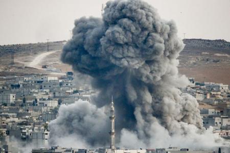 """مسؤولون أمريكيون يبدون تخوفاتهم من سقوط """"كوباني"""" في يد """"دعش"""""""