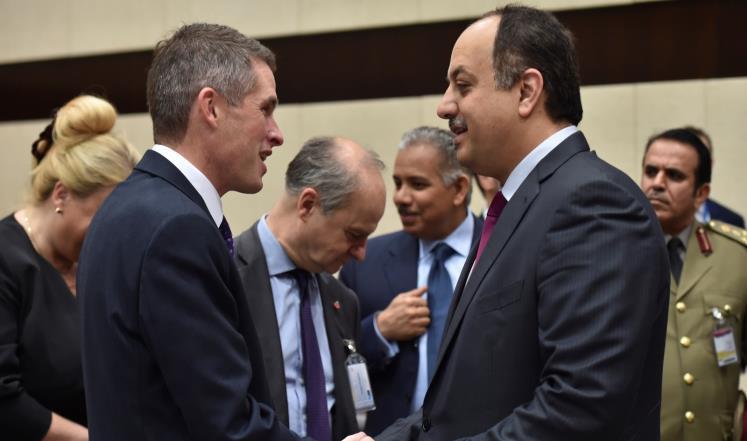 مباحثات قطرية بريطانية للتعاون العسكري
