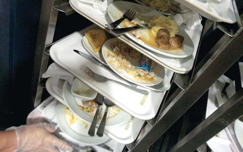 62% من الطعام المهدر جراء الاحتفالات العامة والمناسبات المنزلية