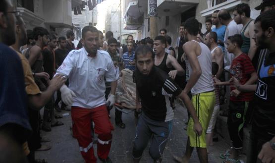 أكثر من 830 شهيدا في غزة منذ بدء العدوان الإسرائيلي