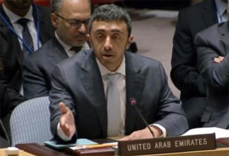 الإمارات: علينا جميعا الوقوف مع القدس والتصدي للغطرسة الاسرائيلية