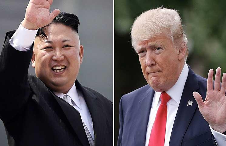 """ترامب: سنلجأ إلى الخيار العسكري ضد كوريا الشمالية """"إذا اضطررنا لذلك"""""""
