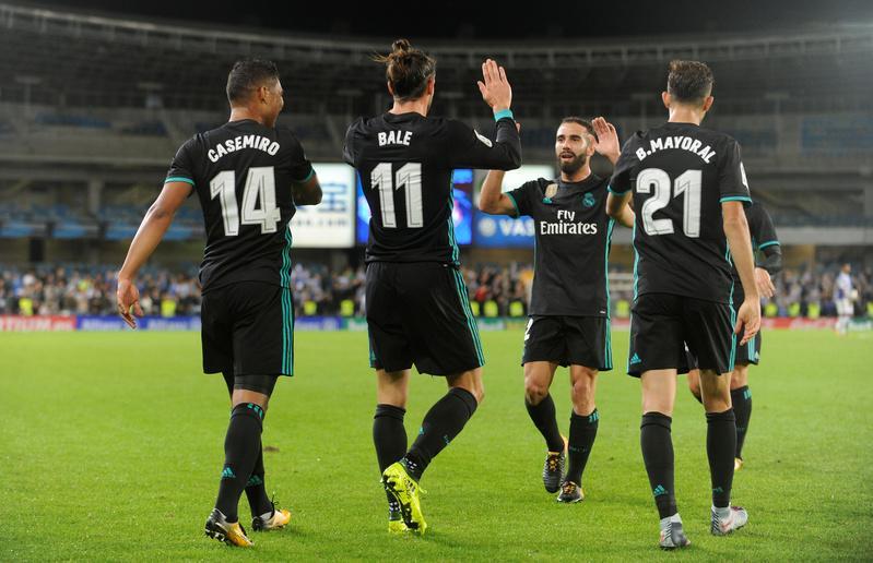 ريال مدريد يعبر سوسيداد بسهولة ويتجاوز تعثره السابق