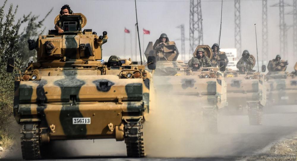 الجيش التركي يحشد قوات هائلة استعدادا لدخول سوريا