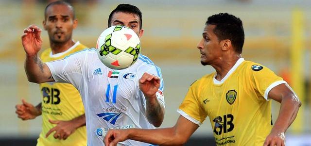 بني ياس يعادل الوصل في مباراة الفريقين بالجولة الـ 20 من الدوري