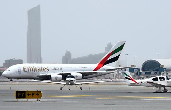 """تراجع الدولار وخفض الوظائف يرفع """"أرباح"""" مجموعة الإمارات النصفية"""