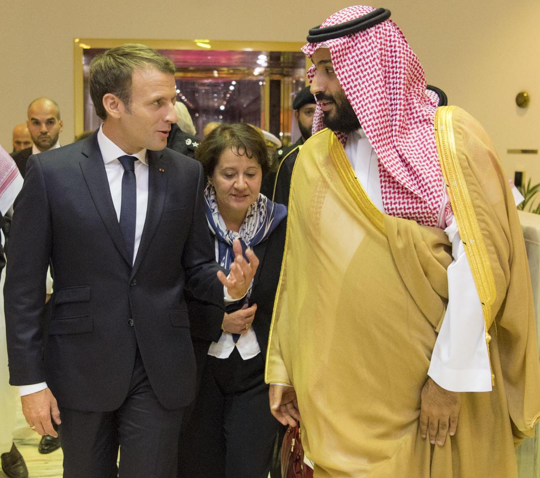 ماكرون طلب من محمد بن سلمان تمويل قوة عسكرية في أفريقيا